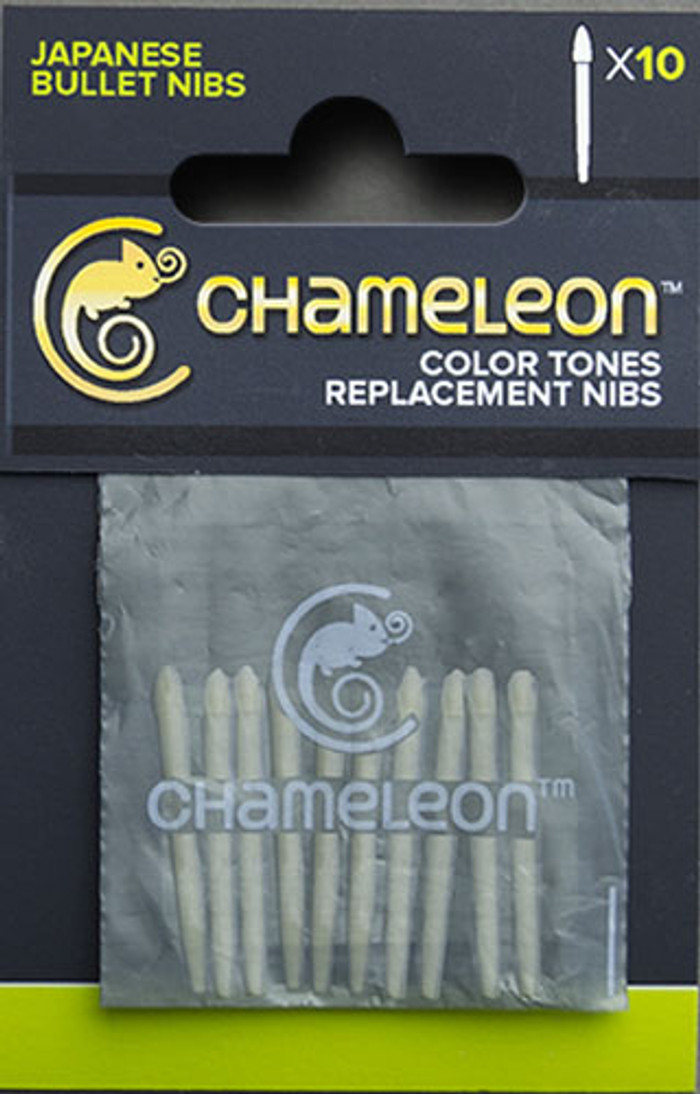 Chameleon Color Tones Pens Replacement Bullet Nibs