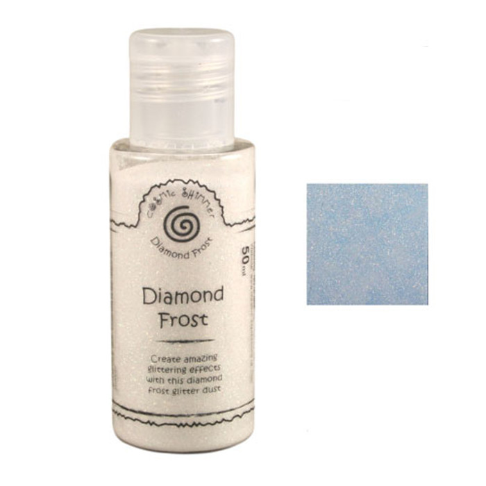 Cosmic Shimmer Diamond Frost Glitter Dust 50ml - Frosty Dawn