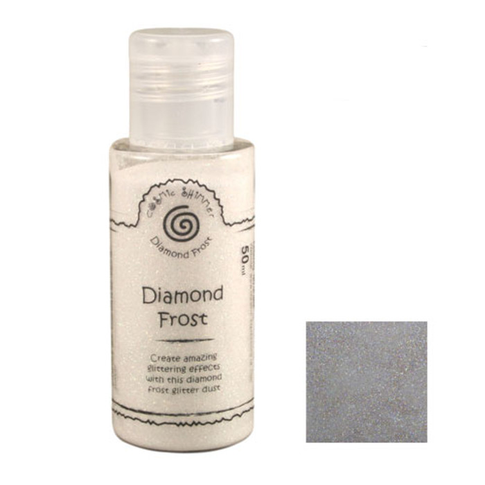 Cosmic Shimmer Diamond Frost Glitter Dust 50ml - Sparkle Star