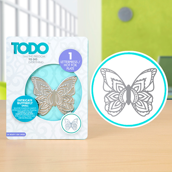 TODO Hotfoil Stamp - Henna Butterfly Small CNCP0478