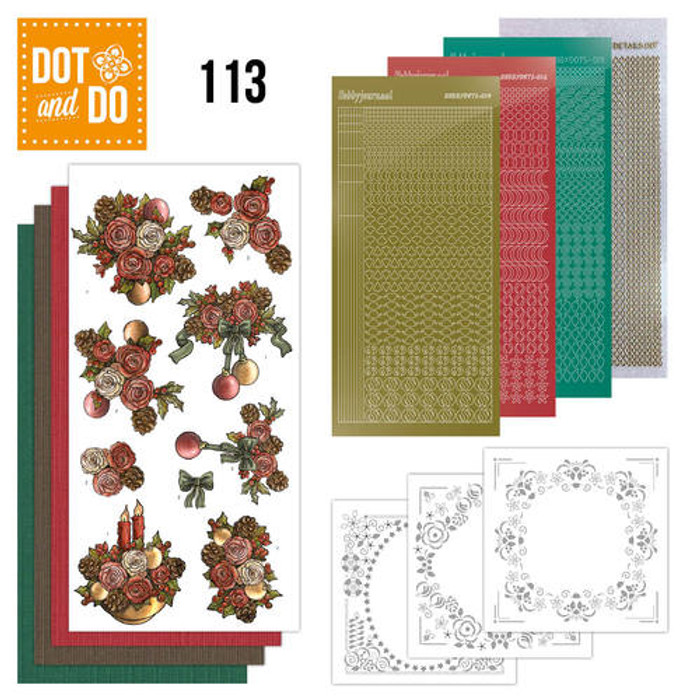 Dot and Do Kit #113 - Christmas Flowers DODO113