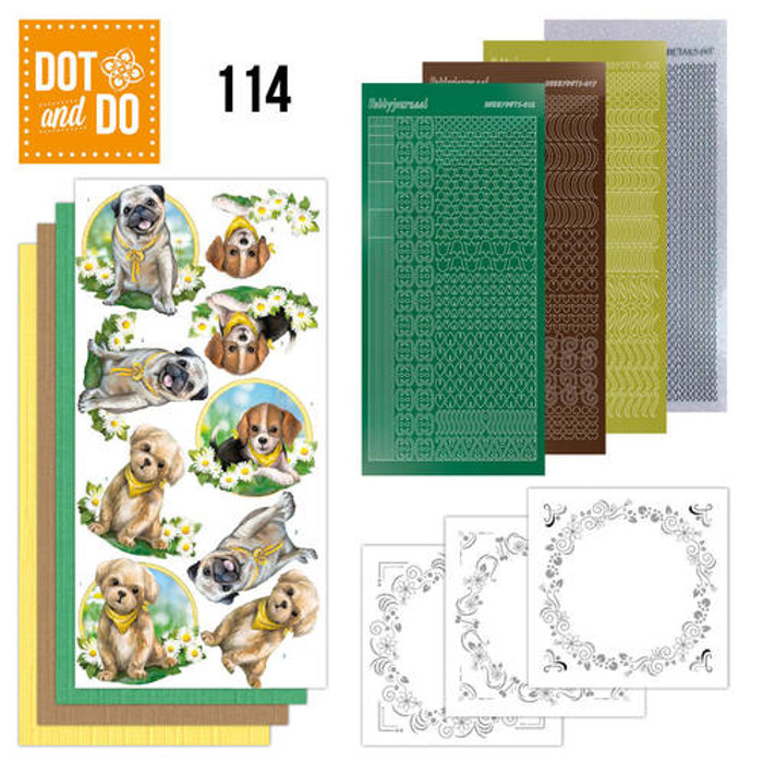 Dot and Do Kit #114 - Dogs DODO114