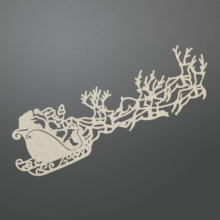 Couture Creations Chipboard  - Santa's Sleigh CO725713