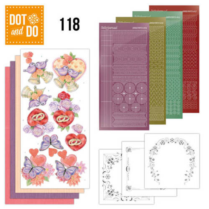 Dot and Do Kit #118 - Jeanine's Art Wedding DODO118