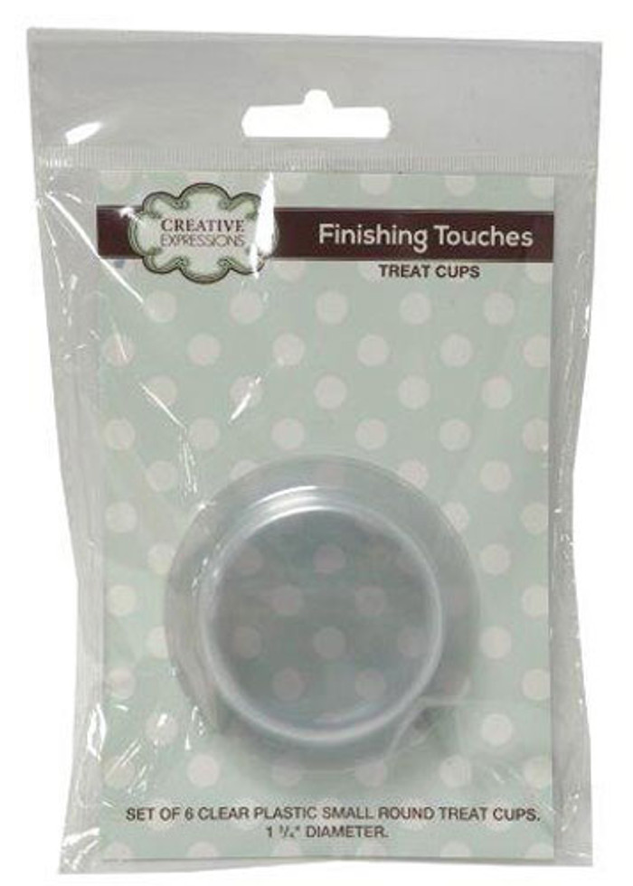 Sue Wilson Finishing Touches Treat Cups - Small Round Set of 6  CETREATSMALL