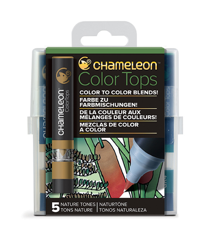 Chameleon 5 Color Tops NATURE TONES Set