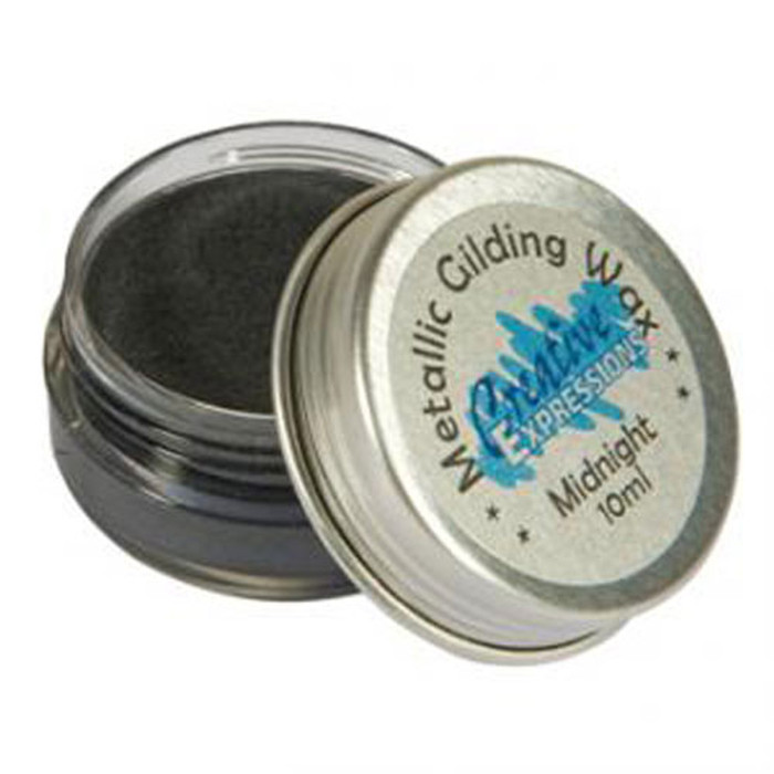 Creative Expressions Gilding Wax 10ml - MIDNIGHT