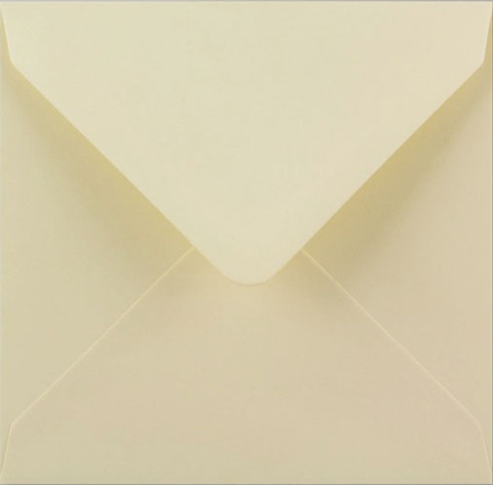 150 Square Envelopes 100gsm - IVORY Pk 20