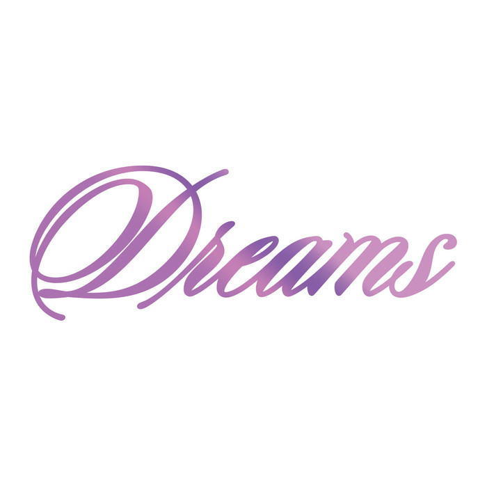 Couture Creations Hotfoil Stamp Everyday Sentiments  - Dreams CO725825