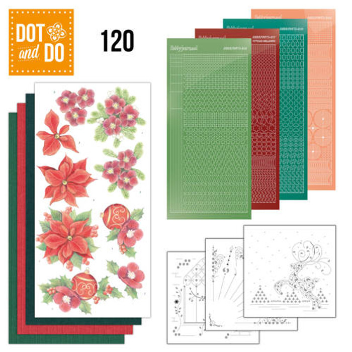 Dot and Do Kit #120 -  Jeanine's Art Christmas Flowers DODO120