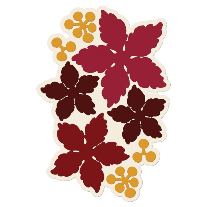 Heartfelt Creations Cut and Emboss Die - Sparkling Poinsettia HCD1-766
