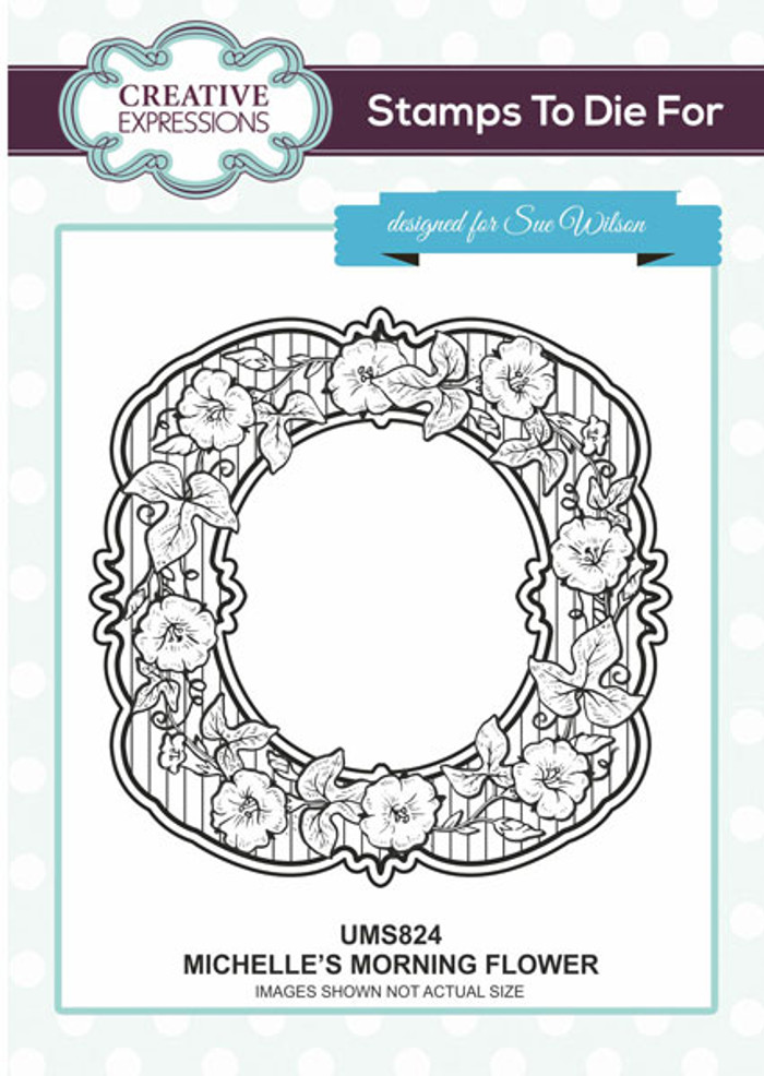 Sue Wilson Stamps To Die For - MICHELLE'S MORNING FLOWER UMS824