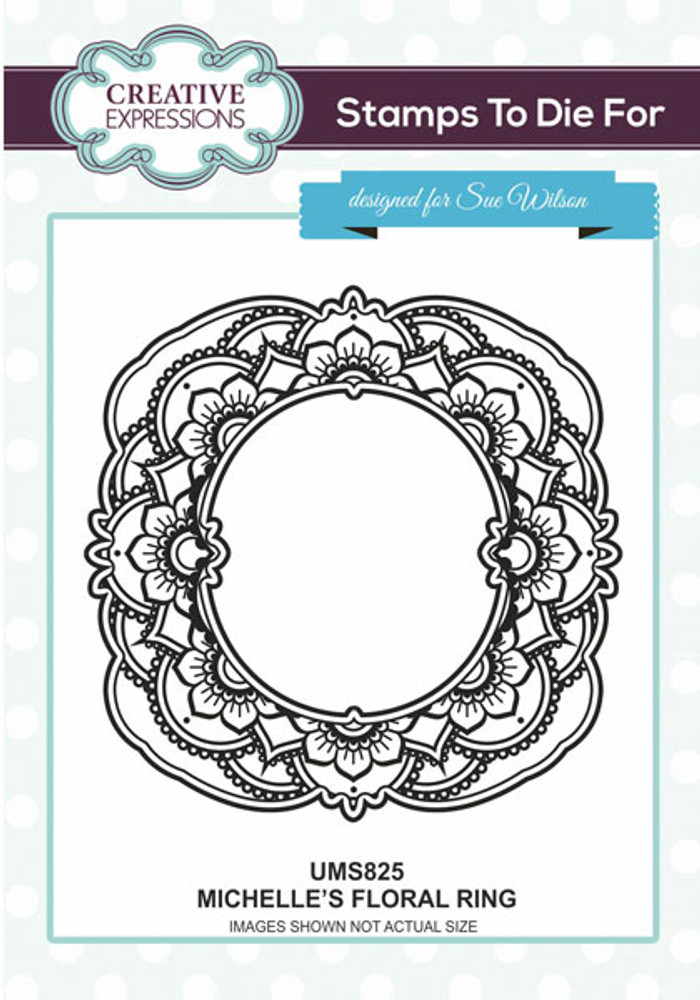 Sue Wilson Stamps To Die For - MICHELLE'S FLORAL RING UMS825
