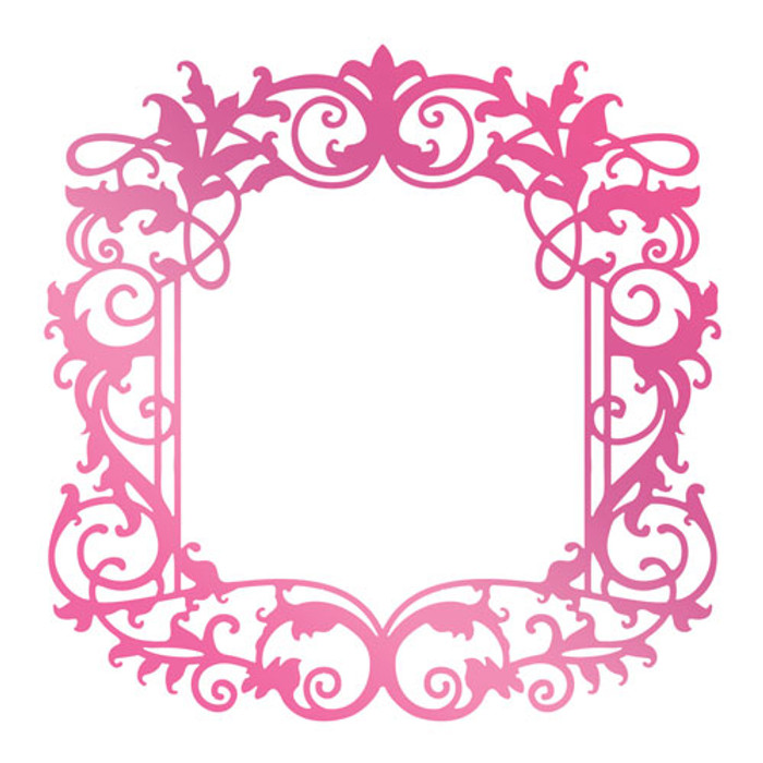 Couture Creations C'est La Vie Hotfoil Stamp - Intricate Frame