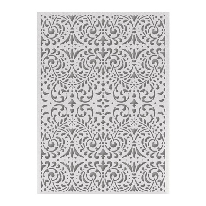 """Couture Creations Embossing Folder 5"""" x 7"""" - Intricate Background"""