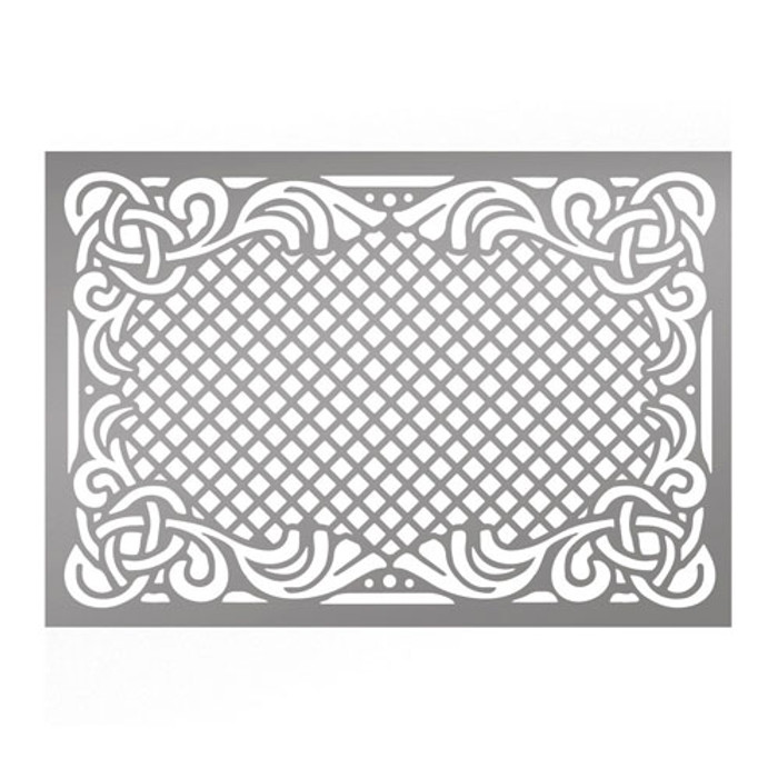 Couture Creations Intricate Frame Stencil