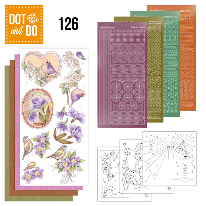 Dot and Do Kit #126 - Vintage Flowers