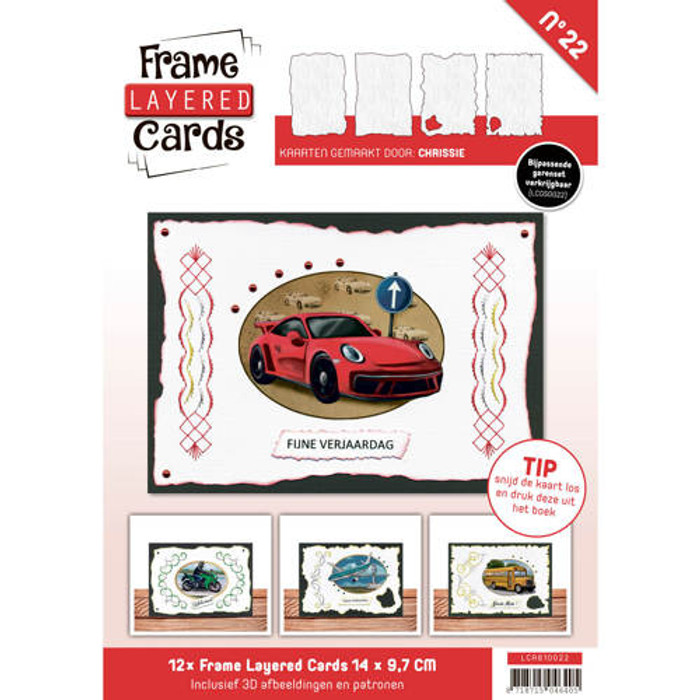 Frame Layered Cards #22 - A6 Daily Transport