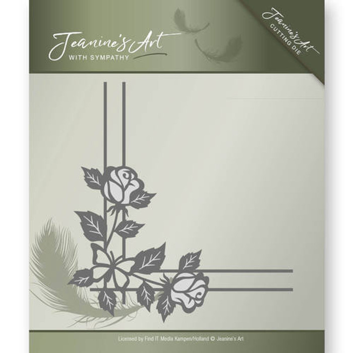 Jeanine's Art With Sympathy Die -  ROSE CORNER JAD10014