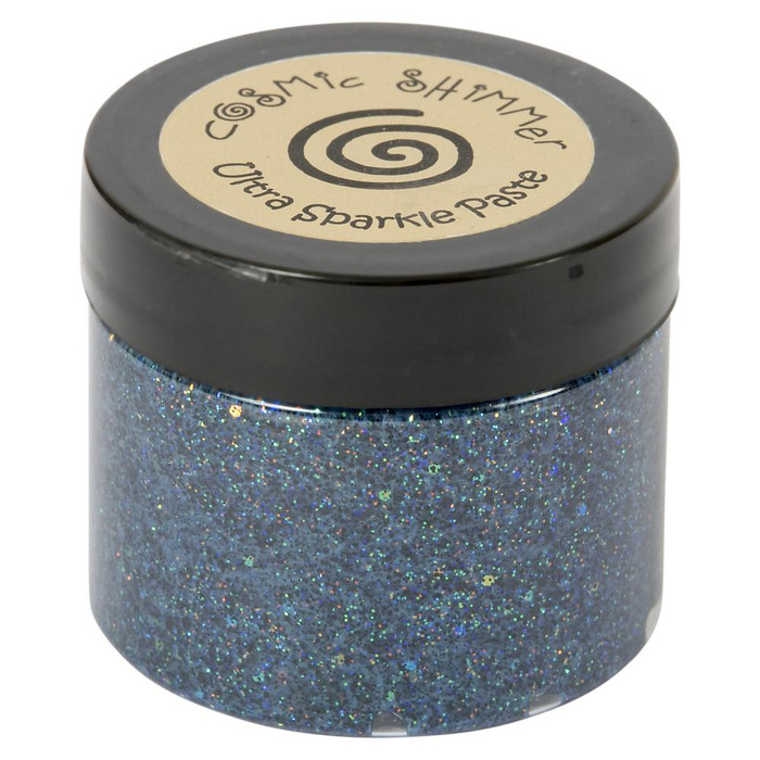 Cosmic Shimmer Ultra Sparkle Texture Paste 50ml Pot - MIDNIGHT SPARKLE