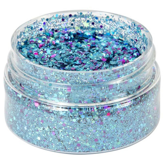 Cosmic Shimmer Holographic Glitterbitz - TEAL HAZE