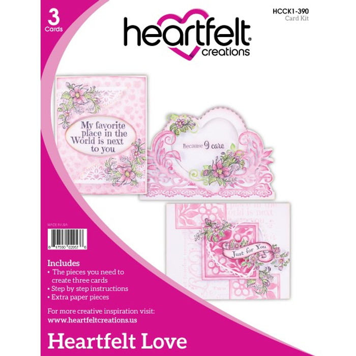 Heartfelt Creations - Love Card Kit