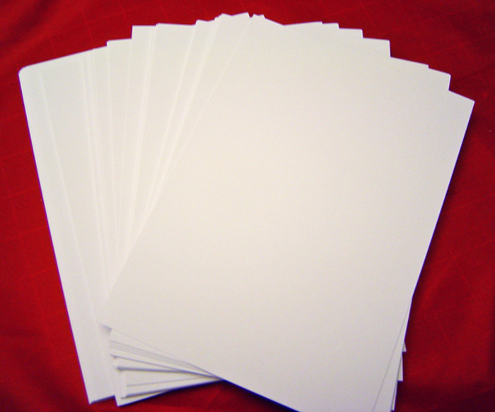 A4 Card White SMOOTH 210gsm Pk 50