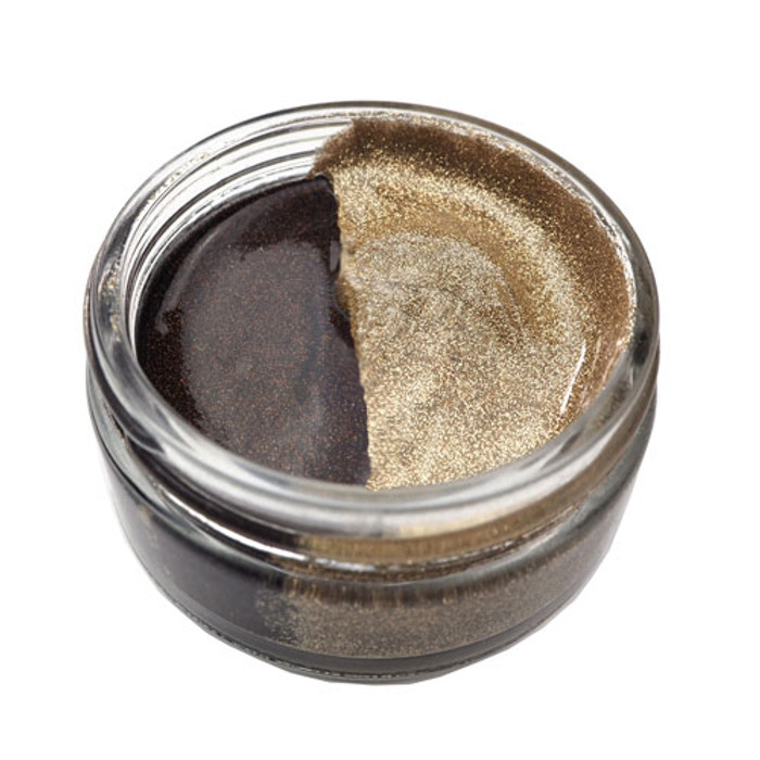 Cosmic Shimmer Glitter Kiss Duo - CHOCOLATE BOX 50ml (CSGKDCHOC)