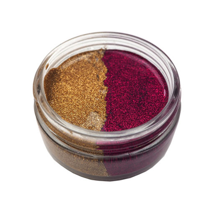 Cosmic Shimmer Glitter Kiss Duo - GOLDEN FIRE 50ml