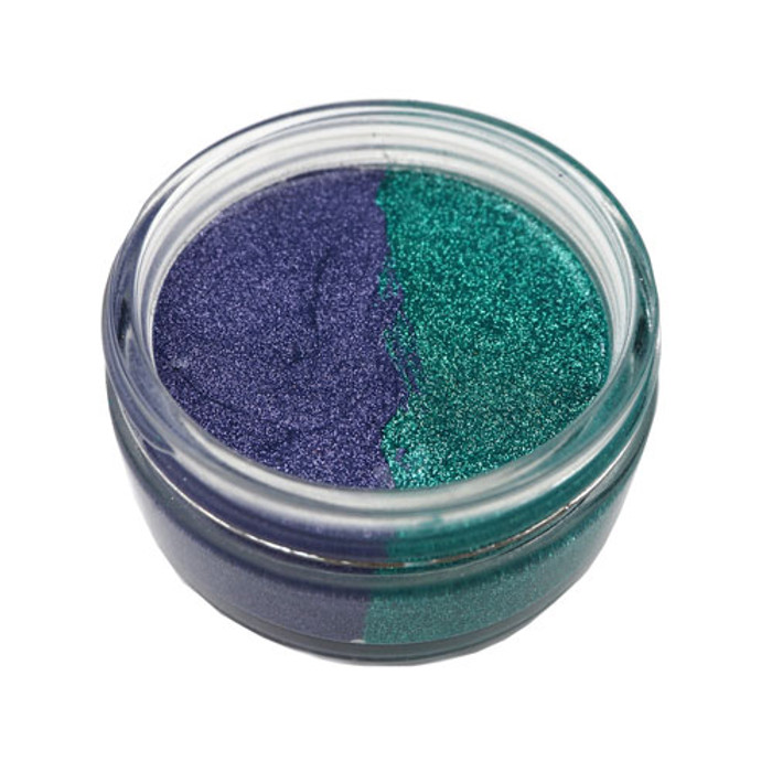 Cosmic Shimmer Glitter Kiss Duo - PURPLE RAIN 50ml
