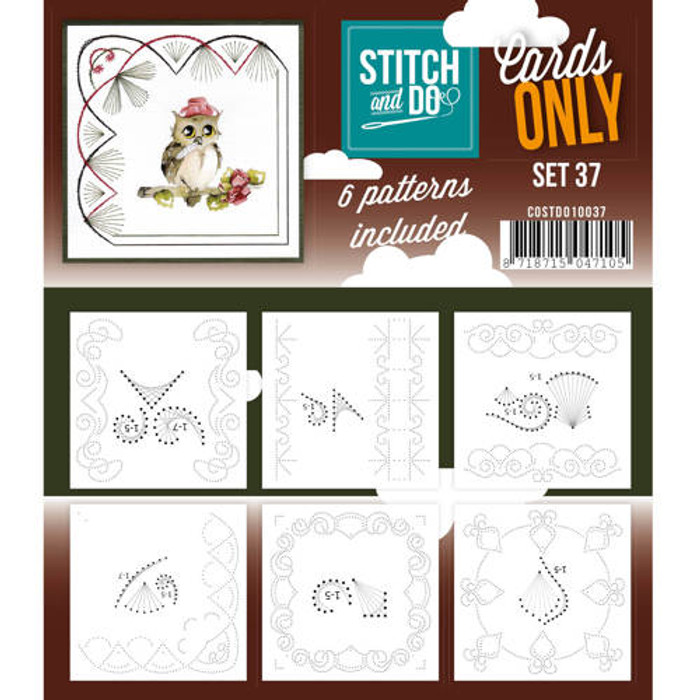 Stitch and Do Card Stitching Cardlayers Only - Set 37