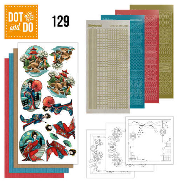 Dot and Do Kit #129 - Any Design - Oriental