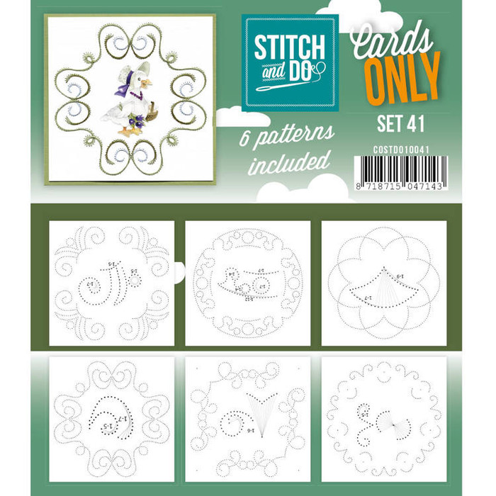 Stitch and Do Card Stitching Cardlayers Only - Set 41