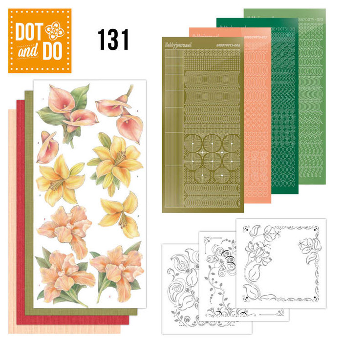 Dot and Do Kit #131 - Yellow Flowers