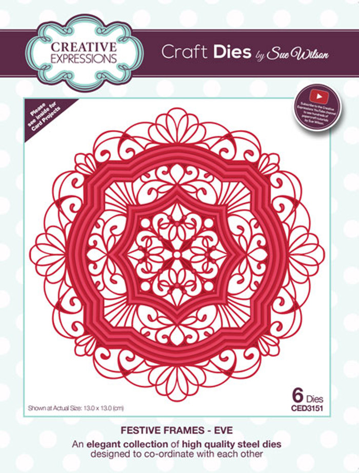 Sue Wilson Festive Collection - Eve CED3151