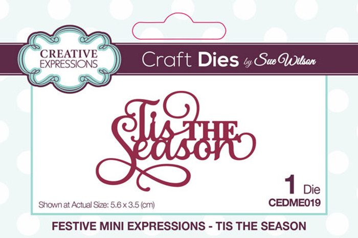 Sue Wilson Festive Collection - Tis The Season CEDME019