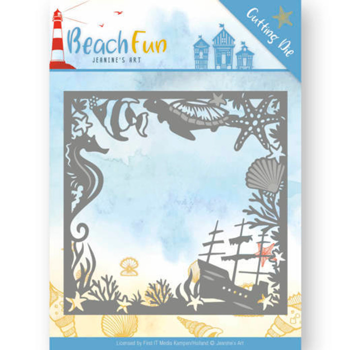 Jeanine's Art Beach Fun Die- BEACH FRAME JAD10038