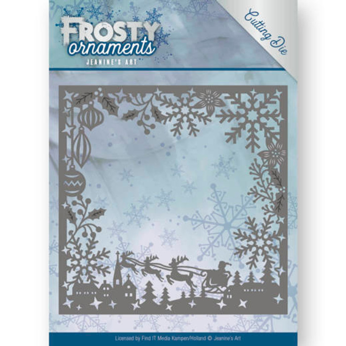 Jeanine's Art Frosty Ornaments Die- FROSTY FRAME JAD10041