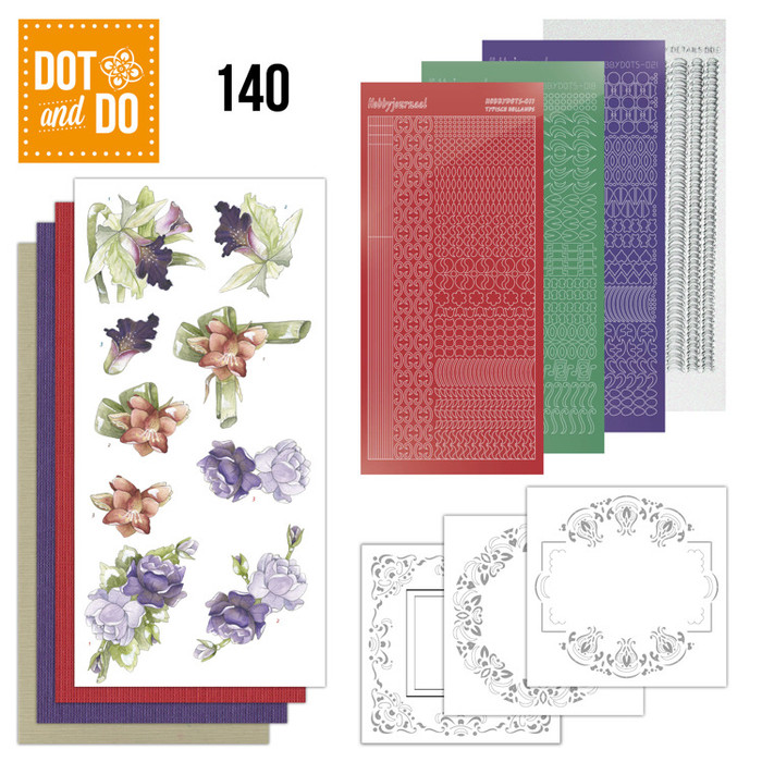 Dot and Do Kit #140 - Flowers