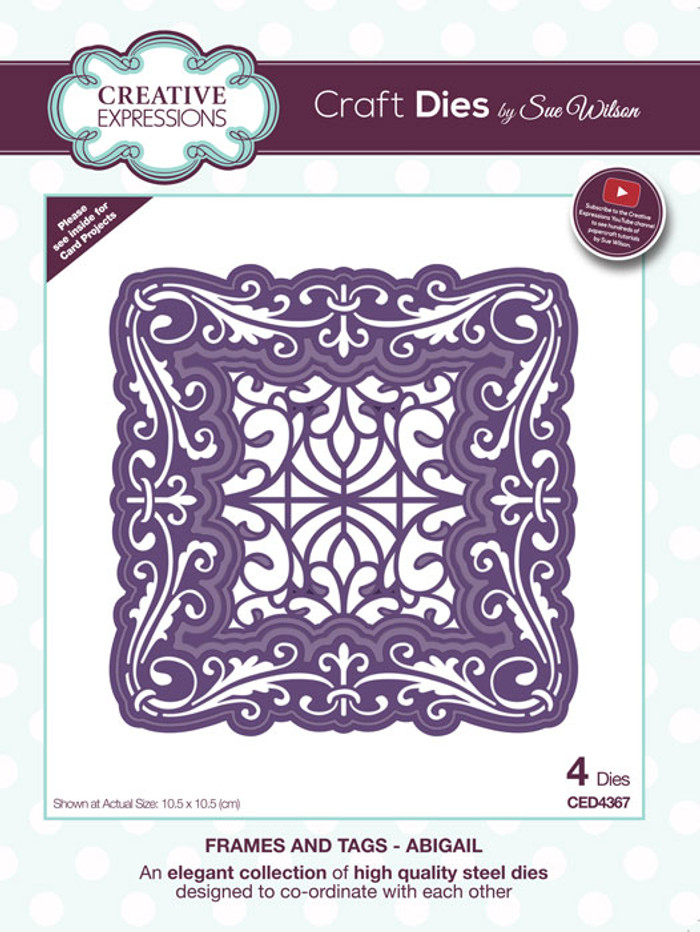 Sue Wilson Frames & Tags Collection Die - Abigail CED4367