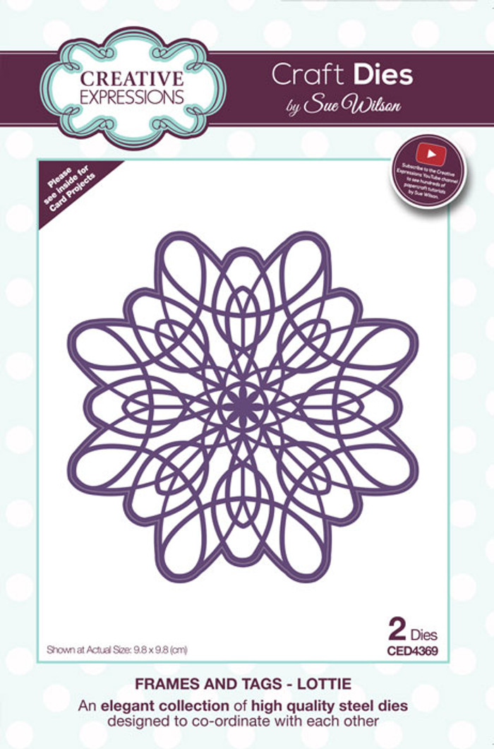 Sue Wilson Frames & Tags Collection Die - Lottie CED4369
