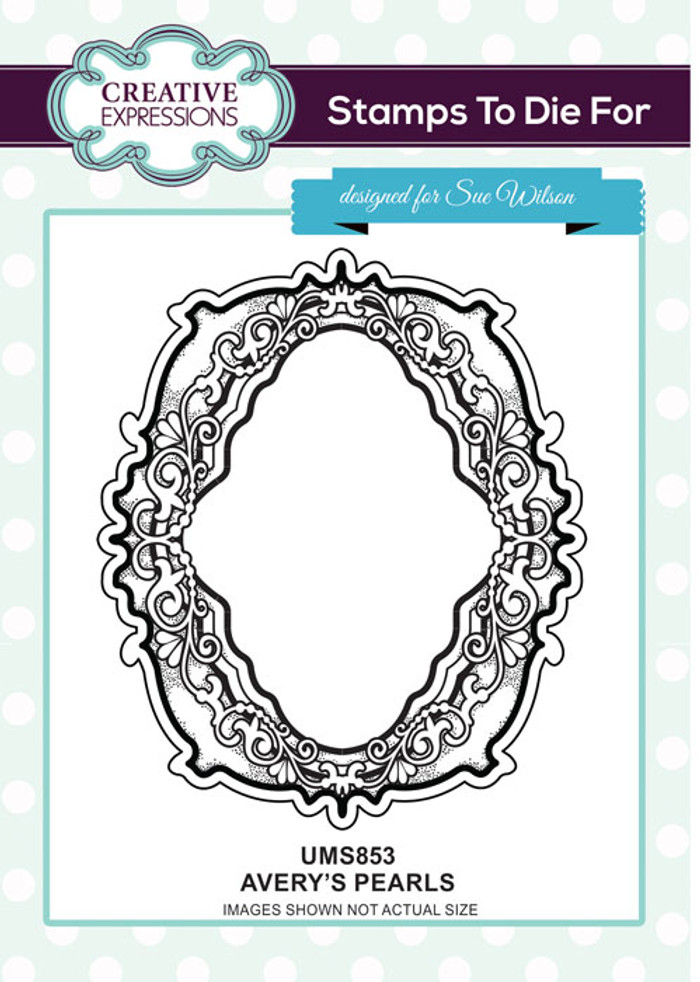 Sue Wilson Stamps To Die For - AVERY'S PEARLS UMS853