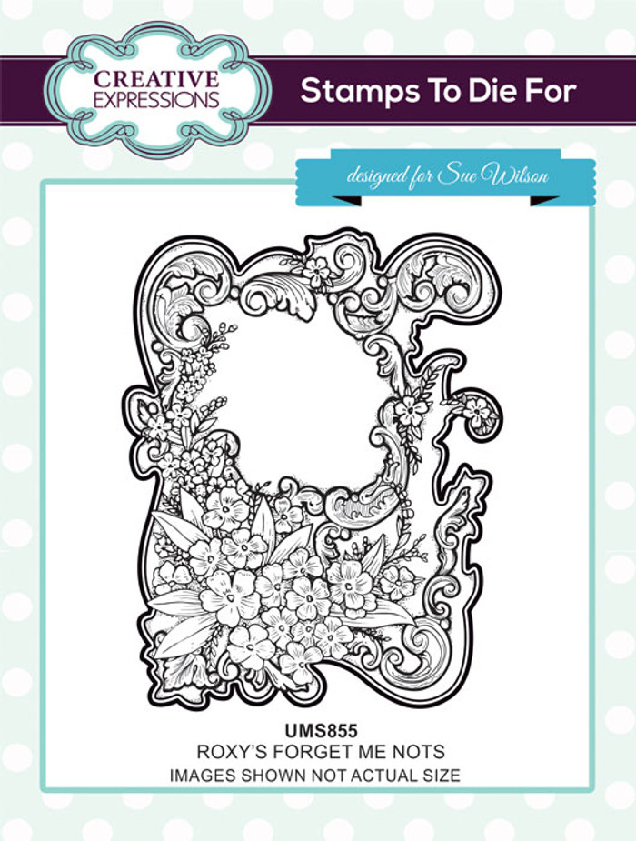 Sue Wilson Stamps To Die For - ROXY'S FORGET ME NOT UMS855
