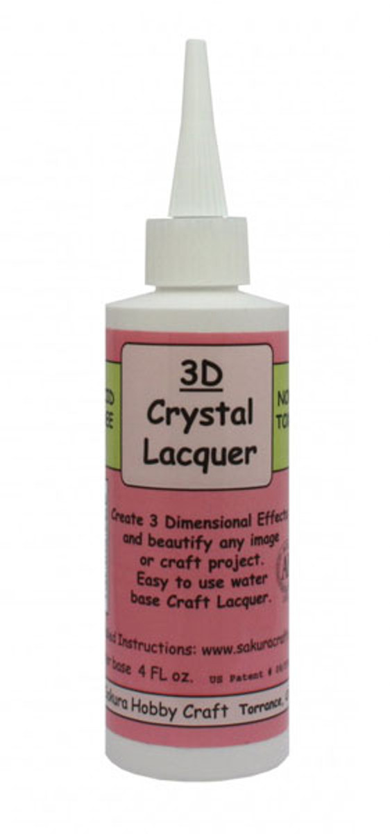 3D Crystal Lacquer 118ml (4oz)