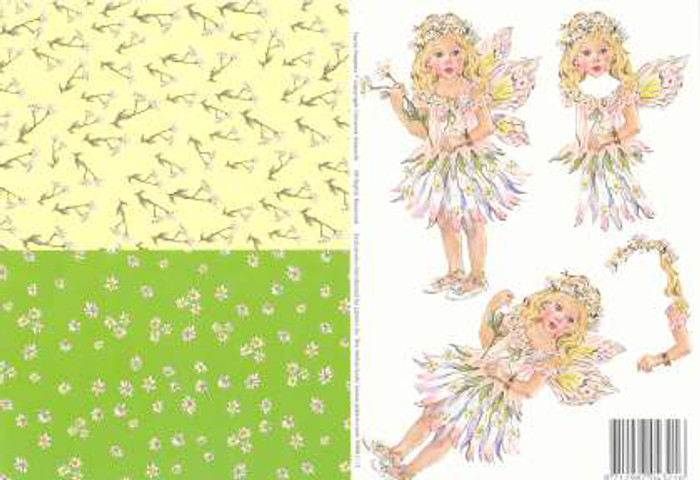 3D Cutting Sheet - Faerie Poppets 13
