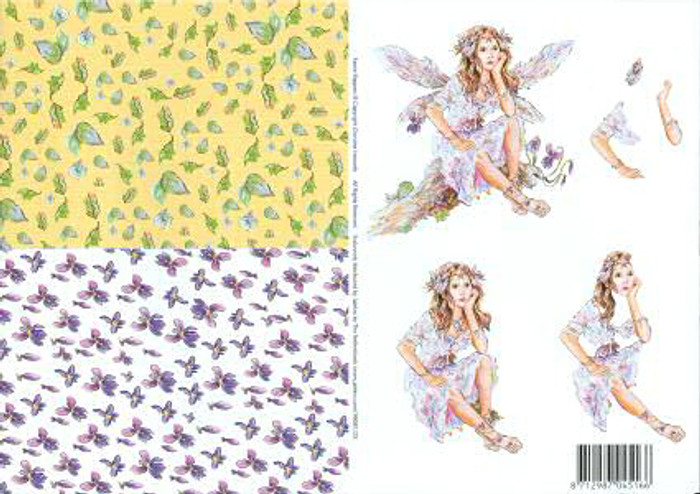 3D Cutting Sheet - Faerie Poppets 23