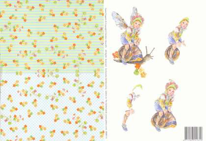 3D Cutting Sheet - Faerie Poppets  5