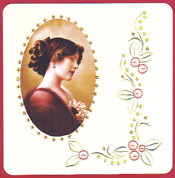 Emelie's Design Card Stitching e-Pattern - ED037e