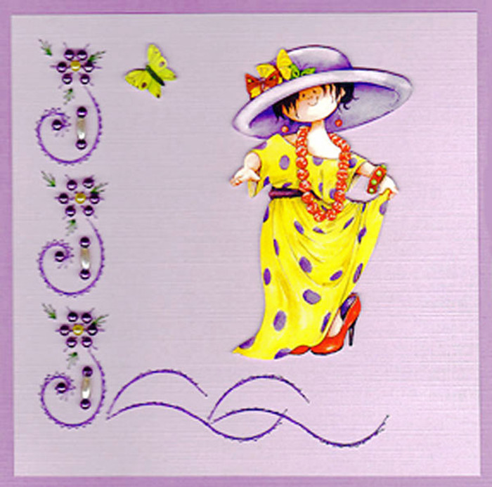 Emelie's Design Card Stitching e-Pattern - ED039e