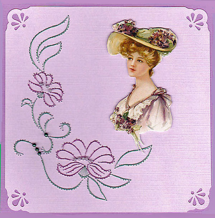 Emelie's Design Card Stitching e-Pattern - ED043e